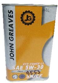 Масло моторное ECO-Power C2 5W30 SN/CF (1дм) (John Greaves)