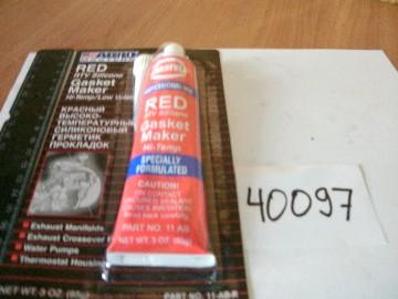 Герметик силиконовый красный tmax-330 (85г)