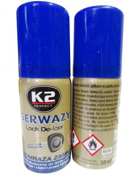 Размораживатель замков (50мл) Gerwazy K2