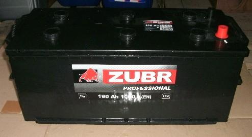 Аккумулятор 6СТ-190 ZUBR Pro. 1000A,L