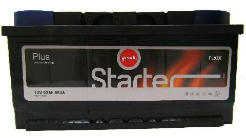 Аккумулятор з6СТ-92 STARTER VESNA 850А, L