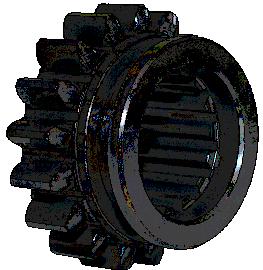 Шестерня скользящая 1 передачи и з/х Z-17 (ДК)