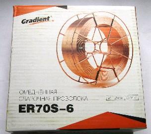 Проволка сварочная 1,2мм (15кг) Gradient